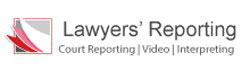 Lawyers Reporting Logo